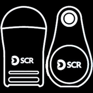 sensehub, ušesna znamka in ovratnica, telefon, računalnik ali tablica