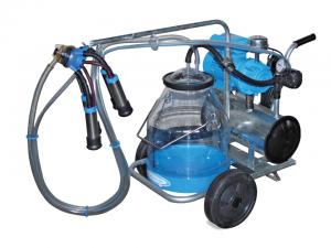 oprema za molžo, milkline, prevozni molzni stroj za krave