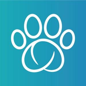 Animo ovratnica za spremljanje obnašanja psa, logo sure petcare